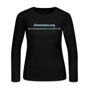 drmomma/doctorsopposingcircumcision.org - Women's Long Sleeve Jersey T-Shirt