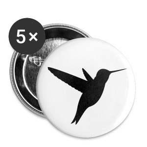 hummingbird - Large Buttons