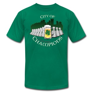 City of Drinking Champions - Pittsburgh - Premium T-Shirt - Men's Fine Jersey T-Shirt