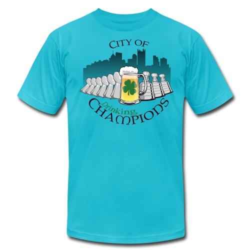 City of Drinking Champions - Pittsburgh - Premium T-Shirt - Men's Fine Jersey T-Shirt