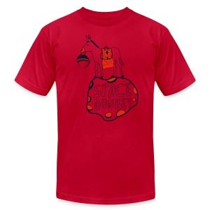 The Space Donkey - Men's Fine Jersey T-Shirt
