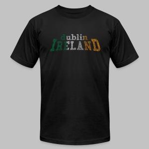 Dublin Ireland Distressed Men's AA Tee - Men's Fine Jersey T-Shirt