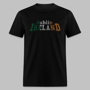 Dublin Ireland Distressed Men's Standard Weight T-Shirt - Men's T-Shirt