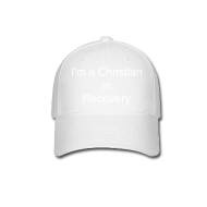 Sportswear ~ Baseball Cap ~ I'm a Christian in Recovery Hat