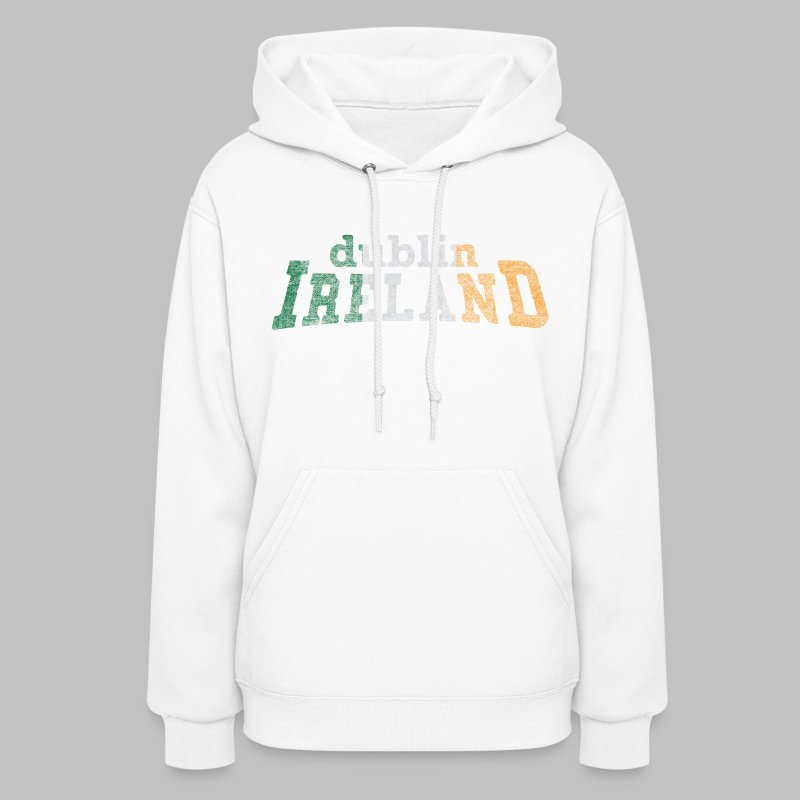 Dublin Ireland, Women's Hooded Sweatshirt - Women's Hoodie