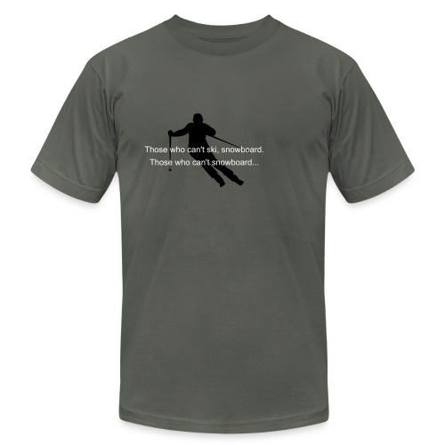 JJ! Guard the slopes - Men's Fine Jersey T-Shirt