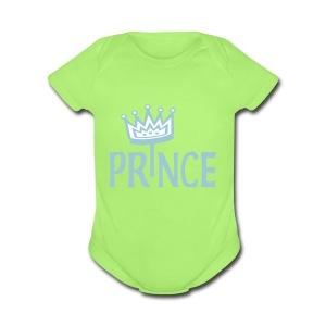 Prince   - Short Sleeve Baby Bodysuit