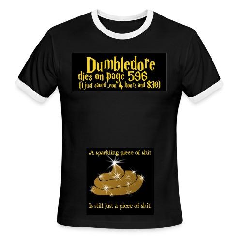 Harry Potter sucks - Men's Ringer T-Shirt