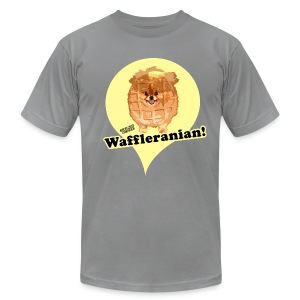 Waffleranian American Apparel - Men's T-Shirt by American Apparel