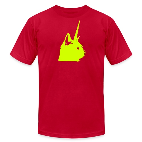Men's Electric Unicat - Men's Fine Jersey T-Shirt