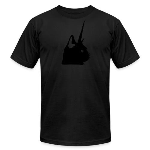 Men's Black Unicat - Men's Fine Jersey T-Shirt