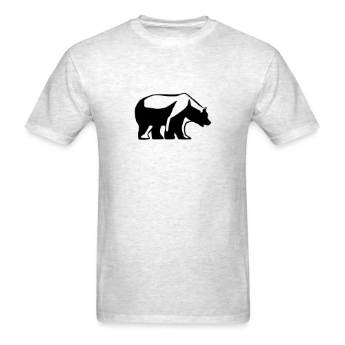 Are you BEAR or bull? - Men's T-Shirt