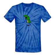 T-Shirts ~ Unisex Tie Dye T-Shirt ~ Dino *Rawr*   tie-dye