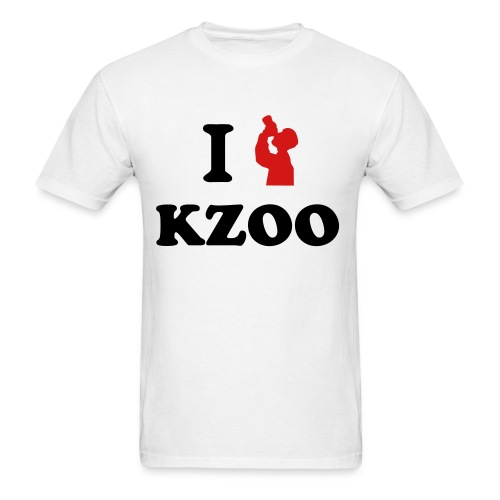 I Get DRUNK in KZOO - Men's T-Shirt