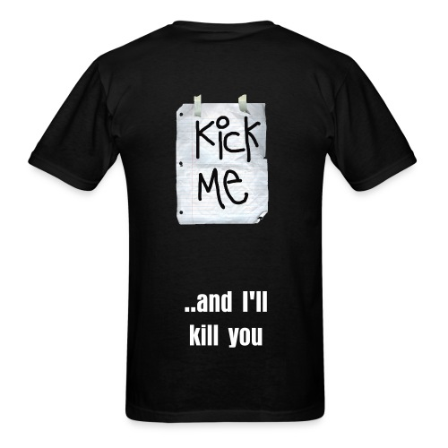 Kick Me - Men's T-Shirt