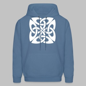 Irish Celtic Knot style Men's Hooded Sweatshirt - Men's Hoodie