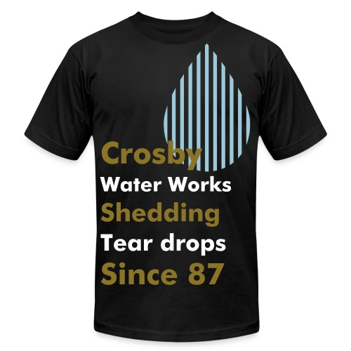 Crosby Water Works - Men's Fine Jersey T-Shirt