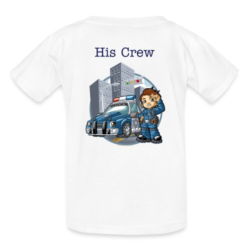 His Crew Police youth - Kids' T-Shirt