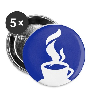 Small Coffee Button - Small Buttons