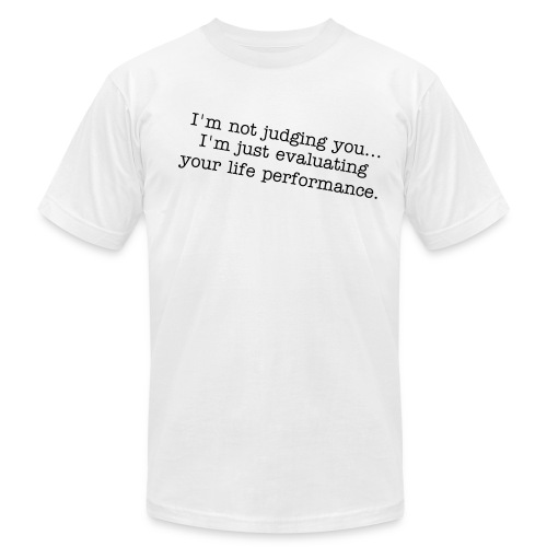 I'm PC: Not Judging You. - Men's  Jersey T-Shirt
