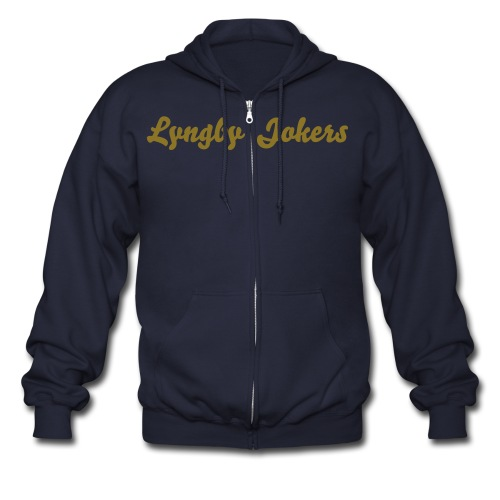 Lyngby Jokers Fan Mande Jakke - Men's Zip Hoodie