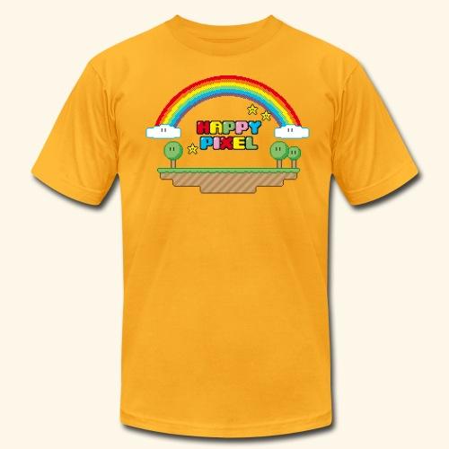 Happy Pixel - Men's Fine Jersey T-Shirt