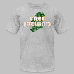 Free Ireland Men's American Apparel Tee - Men's T-Shirt by American Apparel