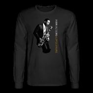 Long Sleeve Shirts ~ Men's Long Sleeve T-Shirt ~ John Coltrane - A Love Supreme - Black Long Sleeve Tee
