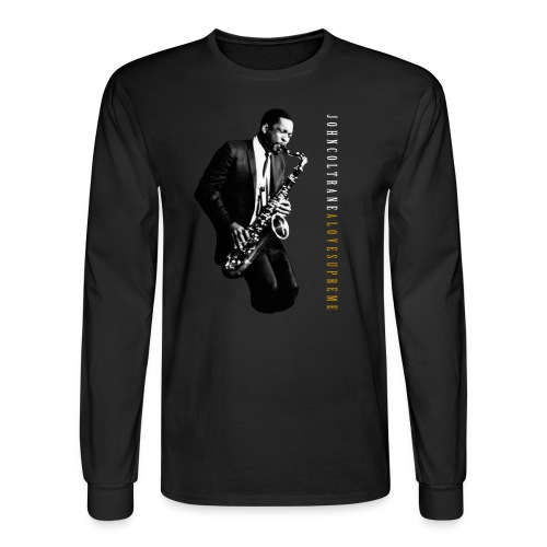 John Coltrane - A Love Supreme - Black Long Sleeve Tee - Men's Long Sleeve T-Shirt