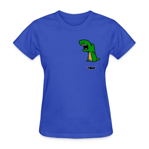 Pocket Dino *rawr* (Women's) - Women's T-Shirt