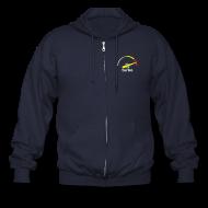 Zip Hoodies & Jackets ~ Men's Zip Hoodie ~ Turbo gauge hoodie