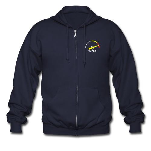 Turbo gauge hoodie - Men's Zip Hoodie