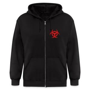 Bio-Hazard Sweater - Men's Zip Hoodie