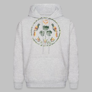 Irish Hex Symbol Men's Hooded Sweatshirt - Men's Hoodie