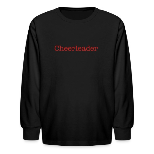Fremont Cheerleading T - Kids' Long Sleeve T-Shirt
