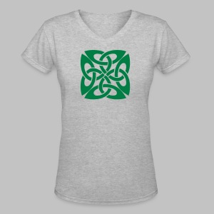 Celtic Knot Women's V-Neck T-Shirt - Women's V-Neck T-Shirt