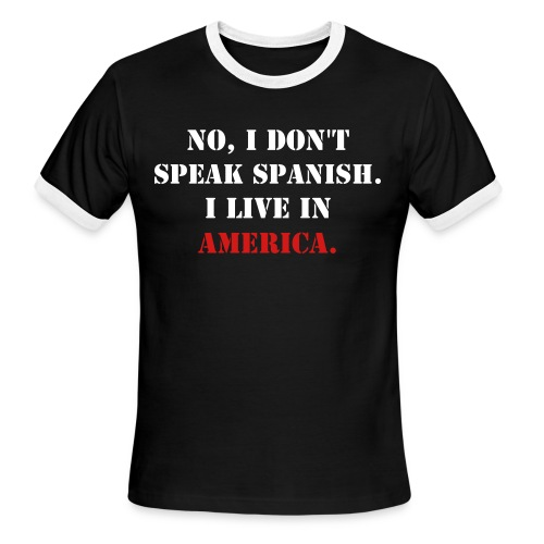 In America - Men's Ringer T-Shirt