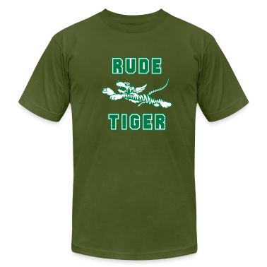 Olive Rude Tiger Men