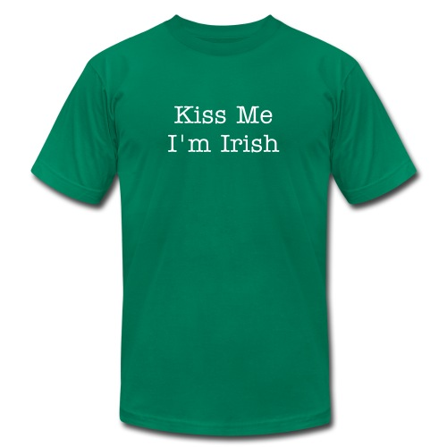 Irish--Kiss Me - Men's  Jersey T-Shirt