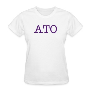 White ATO Tee - Women's T-Shirt