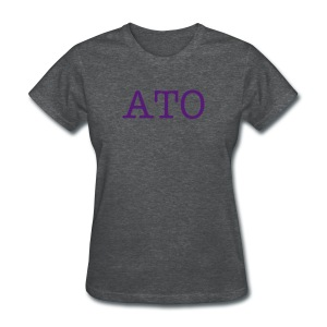Gray ATO Tee - Women's T-Shirt