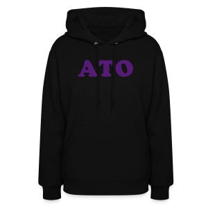 Black ATO Hooded Sweatshirt - Women's Hoodie