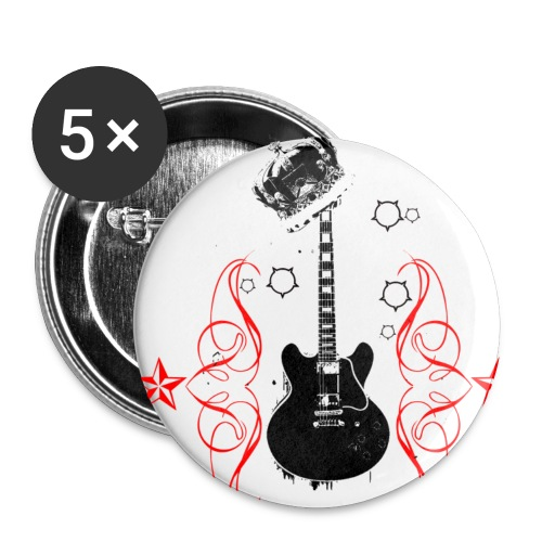 guitar - Small Buttons