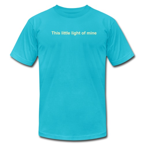 This little light of mine - Men's  Jersey T-Shirt