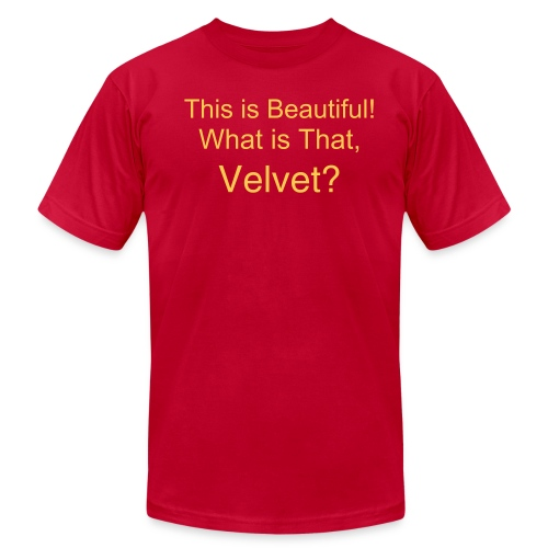 What is That, Velvet? - Men's  Jersey T-Shirt