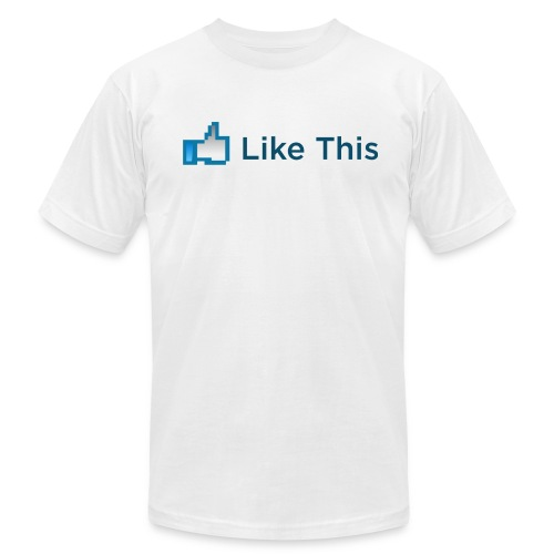Like This - Men's Fine Jersey T-Shirt