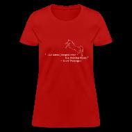 T-Shirts ~ Women's T-Shirt ~ Kurt Vonnegut: Sports Journalist