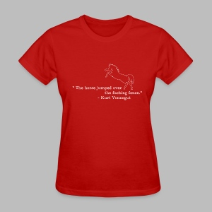 Kurt Vonnegut: Sports Journalist - Women's T-Shirt