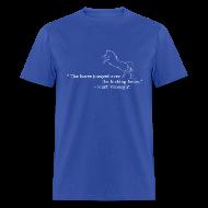 T-Shirts ~ Men's T-Shirt ~ Kurt Vonnegut: Sports Journalist