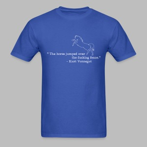 Kurt Vonnegut: Sports Journalist - Men's T-Shirt